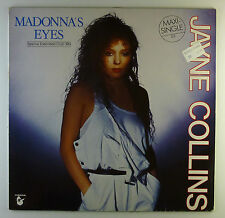 "12"" Maxi - Jayne Collins - Madonna's Eyes - L4885 - washed & cleaned"
