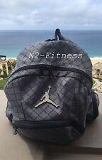 Nike Jordan Jumpman Backpack Gym Bag LapTop Bag Grey 9A1115-783 NWT MSRP: $50