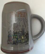 Vintage Beer Stein Tankard Aspen Collectible Mug (Jim Ford)