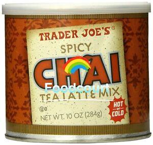 Trader Joe's Spicy Chai Tea Latte Mix 10 oz