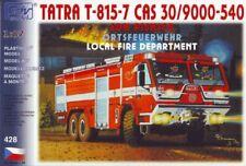 SDV Feuerwehr LKW Tatra T - 815 - 7 CAS 30/9000 Kunststoff Modellbausatz 1:87 H0