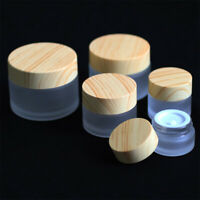 Thick 5g 10g 15g 20g 30g 50g Glass empty cosmetic container 1/3/5/10pcs