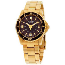 Victorinox Swiss армия женские часы Скиталец коричневый циферблат браслет 241614