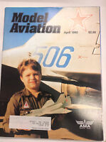 Model Aviation Magazine FF MiG-29 Catapult Glider April 1992 040917nonrh