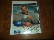 Cliff at IHOP Autographed 8x10 Photo