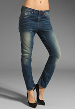 G-Star Raw 'ARC 3D TAPERED WMN' Medium Aged Jeans W28 L34 NEW RRP $289 Womens