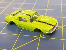 Green / Black Ford Mustang American Line Body HO Mid America AML B451-G