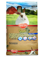 Kaytee Timothy Complete Diet Rabbit Food For Adult Rabbits 9,5-Pound