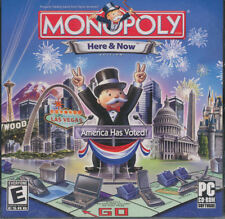 Monopoly Here and Now - Modern Board Game for PC - Windows Xp, Vista, 7, 8, 10
