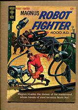 Magnus Robot Fighter #11 - Beasts of Steel - 1965 (Grade 6.5) Wh
