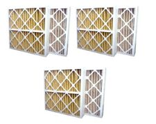 3 Pack High Quality Genuine Merv 11 Pleated Furnace Filters - 16x25x4