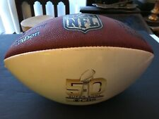 "Official Wilson ""The Duke� Super Bowl 50 Cbs National Football League Football"