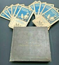 Full Set of 12 Ordnance Survey Maps 1920 / 1921 England & Wales with case