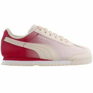 Puma Roma Gradient Lace Up    Kids Girls  Sneakers Shoes Casual