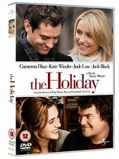 The Holiday 2007 Cameron Diaz, Jack Black, Kate Winslet, Jude Law NEW UK R2 DVD