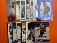 Joe Sakic 15 Card NHL Lot No Duplicates Colorado Avalanche Quebec Nordiques