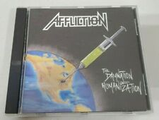 The Damnation Of Humanization CD Affliction (1992 Weasel Records Thrash OOP Rare