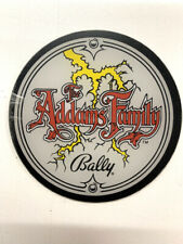 *** décoration plastique Promotion flipper Addams family Bally ***