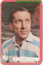 048 THADEE CISOWSKI RACING CLUB FRANCE FOOTBALL CARTE MIROIR SPRINT 1960's RARE