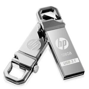 HP LOCK HOOK Flash Pen Key USB 3.0 3.1 128GB 64GB 32GB 16GB Drive Stick Metal T