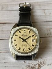 Vintage Mens Watch Limit Gub 26 Jewels Spezimatic Automatic Watch Made In Gdr