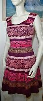 NEW Review Australia tea dress lace floral print fit and flare size 10 BNWOT
