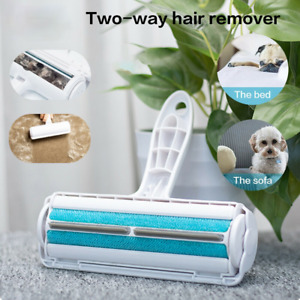 Hair Remover Dog Cat Fur Roller Reusable Sofa Clothes Lint Pet Cleaning Brush