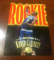 1995-1996 SkyBox Premium Rookie Roadmap KEVIN GARNETT RC Rookie Card #233 🔥🔥🔥