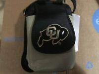 Colorado Buffaloes PursePlus Touch Phone ID Wallet Charm 14 Gift Bag Compact