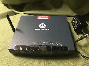 motorola router GZ53347 W/ AC Adaper  #10D