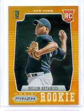 2012 Panini Prizm- DELLIN BETANCES, 9/10 GOLD Refractor Rookie Card #165 Yankees