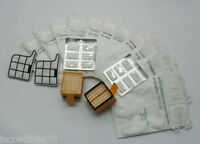 Ricambi sacchetti folletto vk 135 136 12 sacchi 12 profumi 4 filtri adattabile