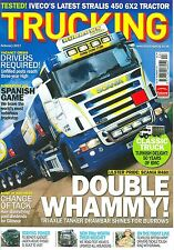 TRUCKING magazine 2/11 feat. Stralis, Burrows Fuels, Gilmour Bros, BMC of Turkey