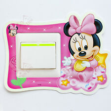 LIGHT SWITCH STICKERS FOR KIDS PLAYROOM BEDROOM  CARTOONS & CHARACTERS