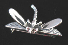 925 sterling silver small dragonfly pin Taxco, Mexico