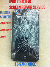 Ipod Touch 4G 4th Cracked Broken Screen Repair Service