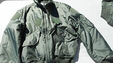 US Army AIr Force CWU-45/P ARAMID SAGE GREEN FLIGHT JACKET Various Mfg. Size X L