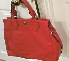 *Marc by Marc Jacobs* Authentic*Ozzie Lucy Satchel, Faux Ostrich, Tomato Red