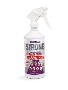1 or 5 Litre Strong House Flea Spray Killer Home Carpet Cat Dog fleas eggs