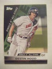 DESTIN HOOD MARLINS 2011 Topps Pro Debut All-Star baseball card #SA28 MOBILE AL