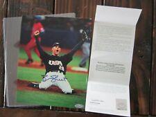 BEN SHEETS Autograph 8x10 Photo UD COA Baseball Team USA Signed SIGNATURE Glossy