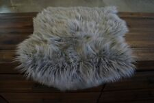 GORDON  FAUX FUR SHEEPSKIN 2X3 GREY