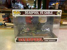 Funko POP! Deluxe Marvel DEADPOOL VS CABLE Comic Moments #318