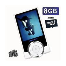 NEW MAJESTIC SDA-8064WH Lettore MP4 Video con fotocamera digitale Bianco