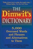 The Dimwits Dictionary