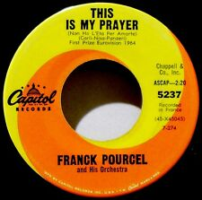FRANK POURCEL - THIS IS MY PRAYER / THE UMBRELLAS OF CHERBOURG