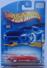 2001 Hot Wheels First Edition '57 Roadster 32/36 (5 Spoke Hub Front Wheels)