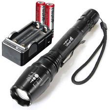 UltraFire 11000 LM lampe de poche Torche E3 Flashlight +2x18650 BT+Chargur