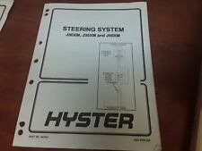 Hyster Steering System PART NO. 897657 1600 SRM 569