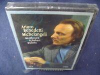 Arturo Benedetti Michelangeli plays Beethoven Shubert & Brahms DVD Brand New NIB